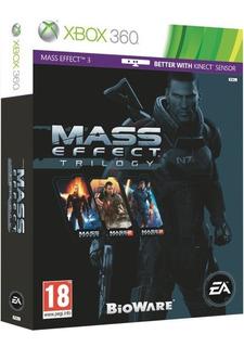 Mass Effect Trilogy Xbox 360 Físico