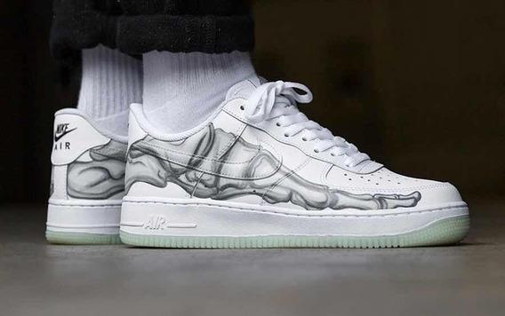 Nike Air Force 1 Qs Skeleton Por Encargue