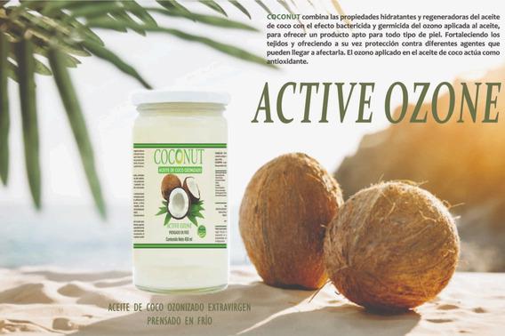 Aceite De Coco Ozonizado 450 Ml
