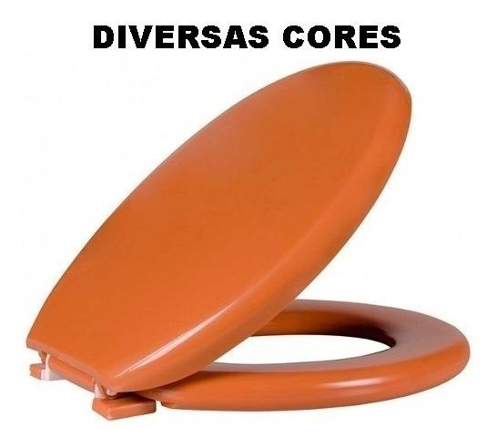 Assento Almofadado Oval Astra Tpk/as Diversas Cores Vaso
