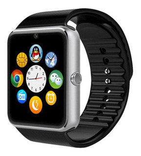 Relogio Celular Smartwatch Gt08 Chip Bluetooth Android Ios