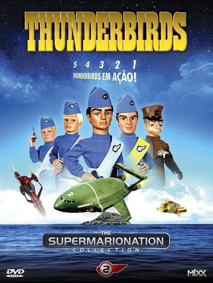 Thunderbirds Vol.2 - Box Com 4 Dvds - 8 Episódios - Novo