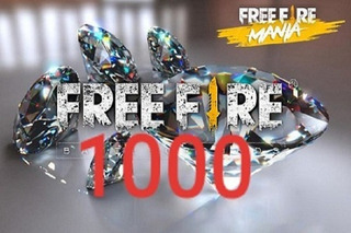 1000 Diamantes Free Fire