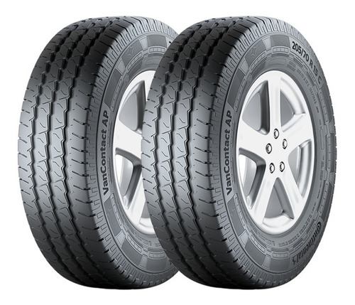 Imagen 1 de 6 de Kit 2 Neumáticos Continental 225 65 R16 Vanco Transit Master
