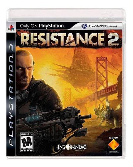 Resistance 2 - Mídia Física / Ps3
