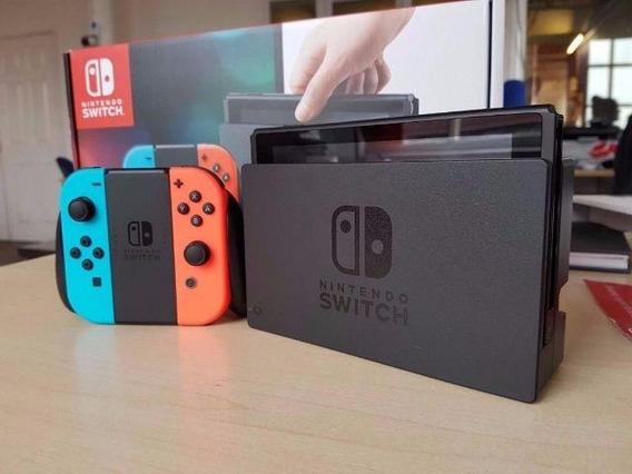 Nintendo Switch + Jogo Mario Odyssey