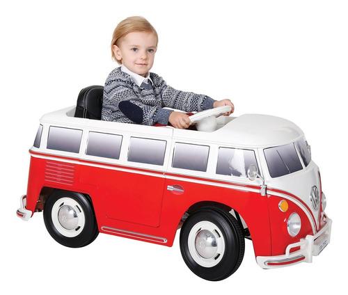 Camioneta Eléctrica Vw Mini Bus 6v