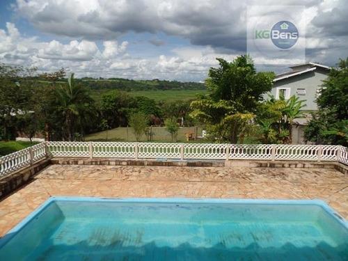 Imagem 1 de 21 de Chácara Residencial À Venda, Parque Da Represa, Paulínia. - Ch0004