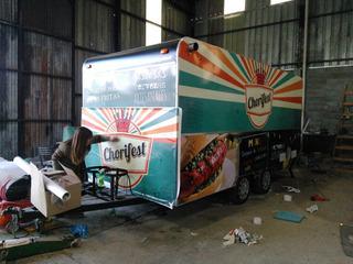 Vinilo Vehicular Food Truck