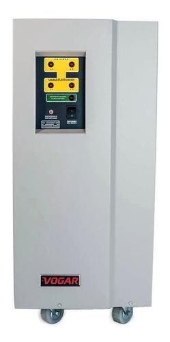 Regulador Electrónico De Voltaje Vogar® Bifásico 16 Kva