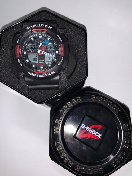 Reloj G Shock Ga-100b Negro