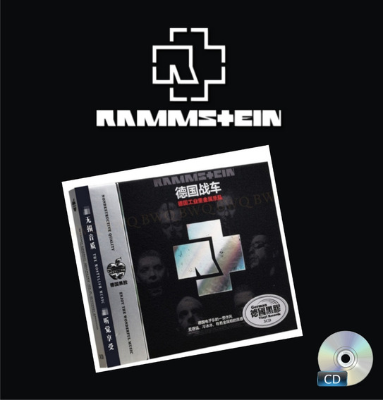 Rammstein - Box Triplo Greatest Hits - Importado - 03cds