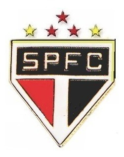 2 Pins Bottons Broche Time São Paulo Clube Futebol