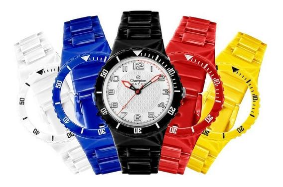 Relógio Troca Pulseiras Masculino Feminino + Relógio De Led