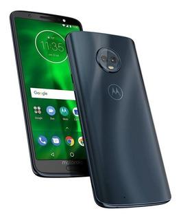 Motorola Moto G6 Plus 64gb 4gb Ram 4g Dual Sim Sellados Azul