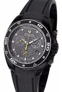 Reloj Bulova 65b139 Accutron Suizo Cronografo Zafiro 300m Water Resistant Envio Gratis Watch Fan Palermo Saavedra