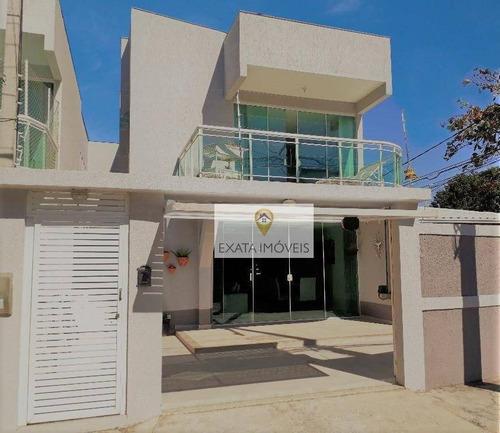 Imagem 1 de 30 de Casa Duplex 4 Quartos, Costazul, Rio Das Ostras. - Ca0990
