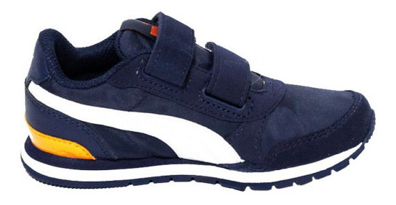 St Runner V2 Nl Ps Azul/blanco/naranja Puma 367131-15