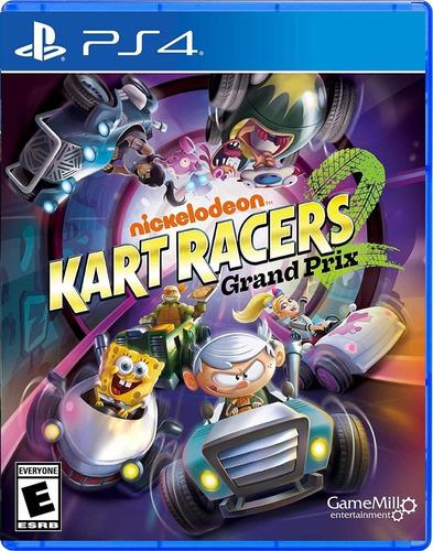 Ps4 Nickelodeon Kart Racers 2 Grand Prix / Fisico