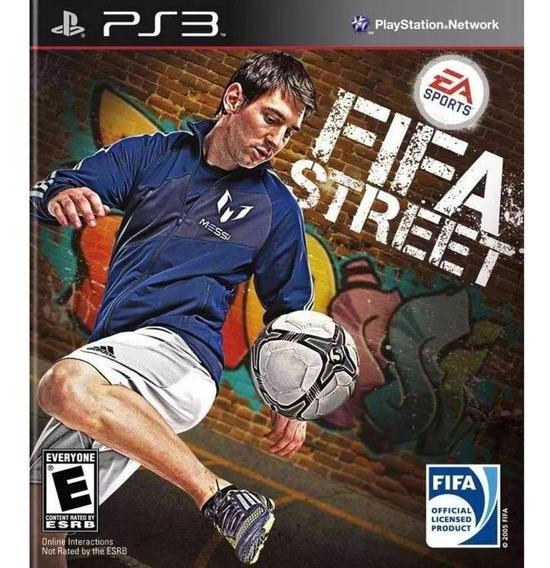 Fifa Street Futebol De Rua - Jogos Ps3 Original Jogue Agora
