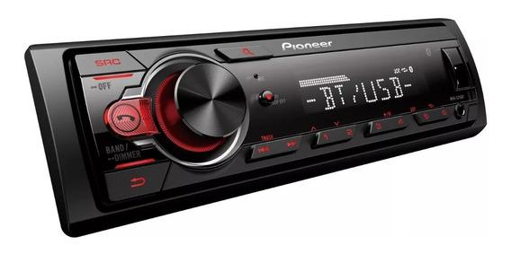 Stereo Pioneer Mvh-215bt Bt Usb Aux Mp3 Potencia 50w X 4