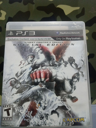 Street Fighter X Tekken Special Edition Ps3 Fisico
