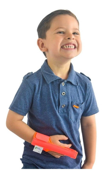 Inmovilizador Infantil Para Dedo Medio Naranja