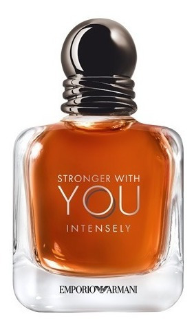 Stronger With You Intensely Giorgio Armani Perfume Masculino - Eau De Parfum 50ml