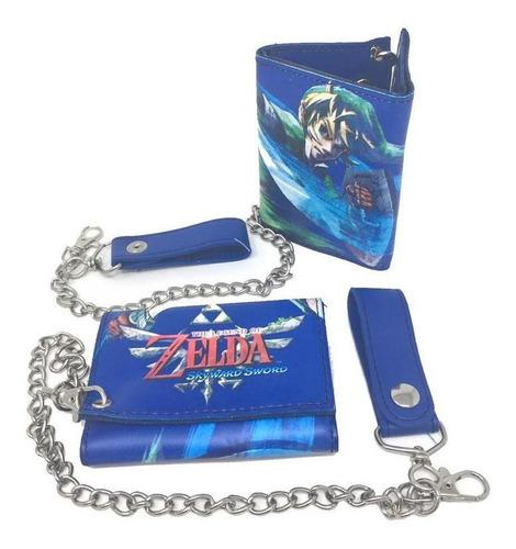 Imagen 1 de 1 de Cartera Zelda Skyward Sword Con Cadena