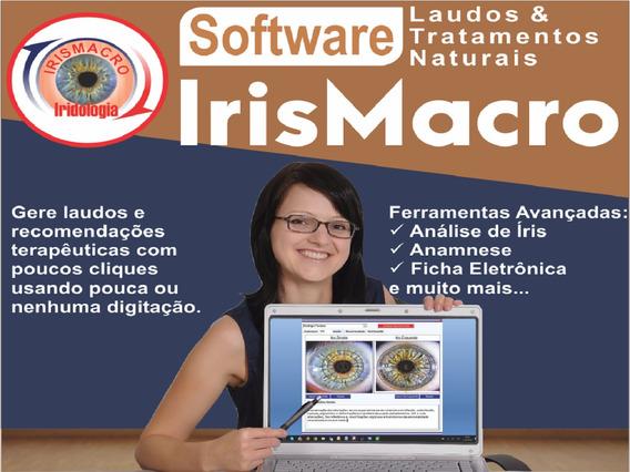 Software Irismacro - Laudos E Tratamentos Naturais.
