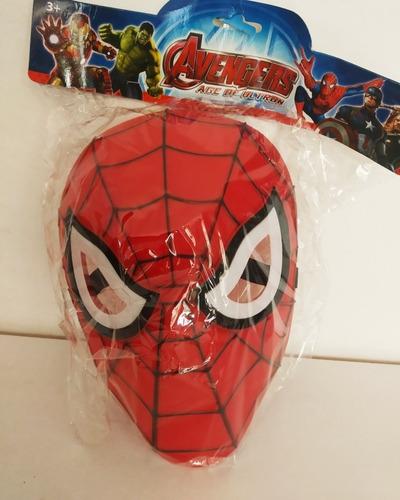 Máscara Spiderman Capitán América Hulk Ironman 5v