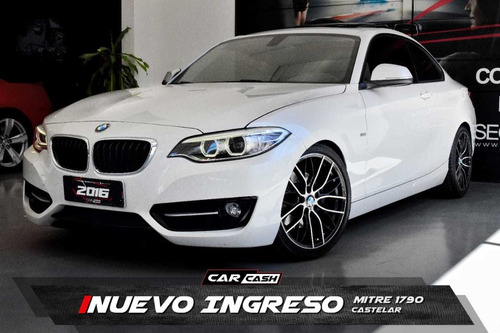 Bmw Serie 2 2.0 220i Sport Line 184cv 2016 - Car Cash