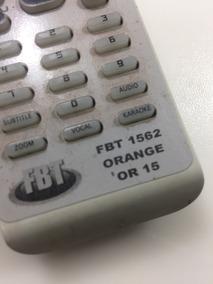 Controle Remoto Para Caixa Home Treater Orange Or15 Fbt1562