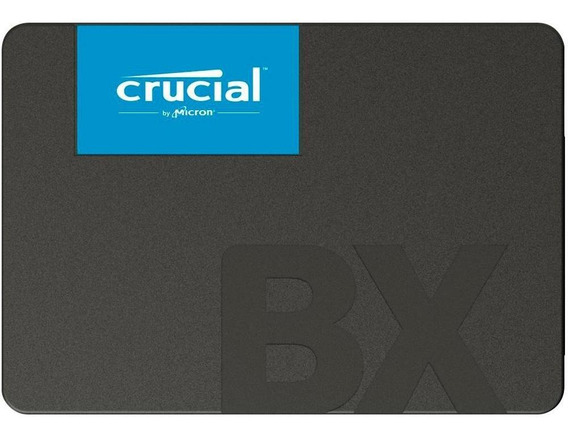 Hd Ssd De 240gb Crucial Bx500 Leitura 540mb/s + Nota Fiscal