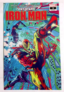 Tony Stark: Iron Man #3 Marvel Fresh Start Legacy #603