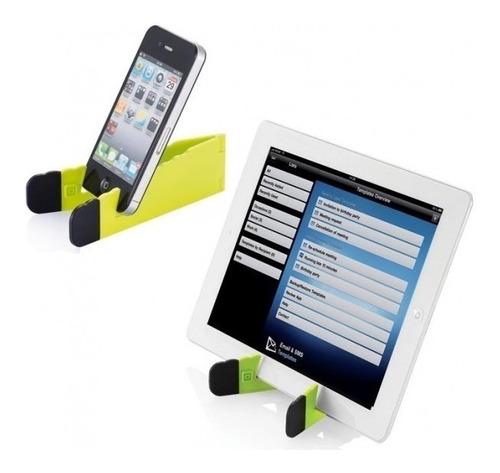 Imagem 1 de 2 de Suporte Mesa Apoio Tablet Smartphone Celular iPad Atacado