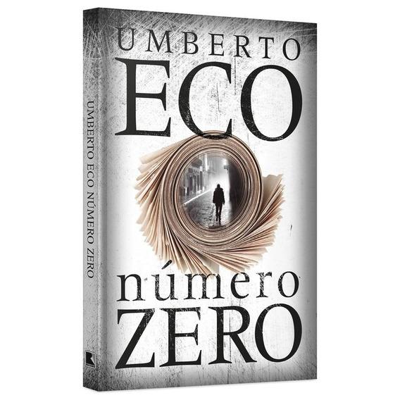 Livro Literatura Número Zero Umberto Eco Romance Jornalismo