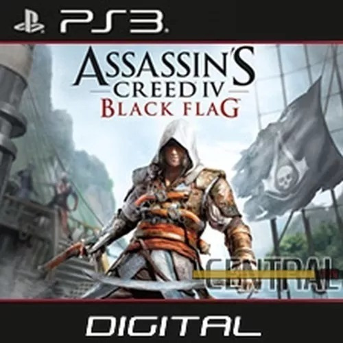 Assassins Creed 4 Iv Black Flag Playstation 3 Portugues Ps3