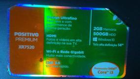 Notebook Positivo Premium Xr7520