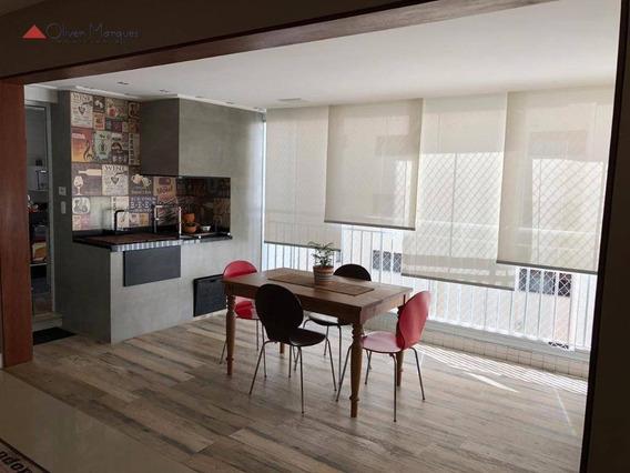 Apartamento Com 4 Dormitórios À Venda, 142 M² Por R$ 1.270.000,00 - Vila São Francisco - São Paulo/sp - Ap7417