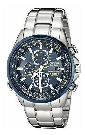Reloj Citizen Eco Drive Análogo Japoneat8020-54l Blue Angels