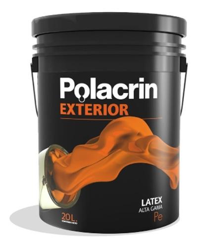 Latex Polacrin Exterior Cubritiva 20 Premium Antihongos Lts