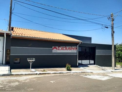 Casa Com 3 Dormitórios À Venda, 137 M² Por R$ 380.000,00 - Residencial Serra Azul - Paulínia/sp - Ca1836