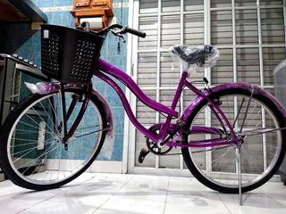 Bicicleta De Paseo Nueva A Estrenar Rodado 26 Marca Andes