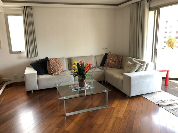 Apartamento Com 122m² - 200 Metros Metrô Moema - Bi26109