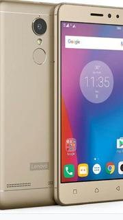 Smartphone Lenovo Vibe K6 Dourado Com 32 Gb De Memóri