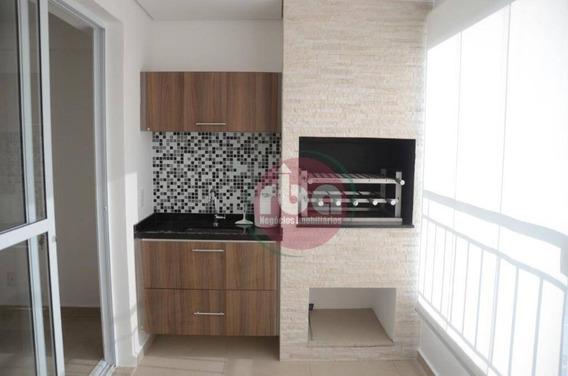 Apartamento Edíficio Raizes Com 2 Dormitórios À Venda, 68 M² Por R$ 420.000 - Parque Campolim - Sorocaba/sp - Ap0994