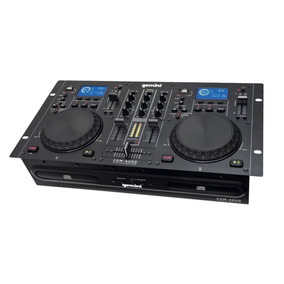 Mezclador Gemini 4000 Cd Usb Dj Media Player