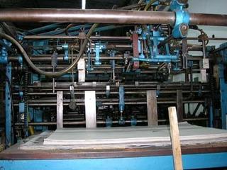 Maquina Impresora Offset 2 Colores Papel O Cartón Desarmada