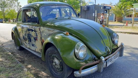 Volkswagen The Beetle Fusca 1300 Año 1962